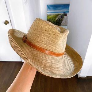 👒 ERIC JAVITS TAN SUMMER HAT!
